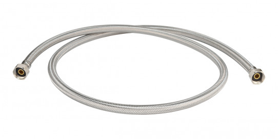 1.5m flexible stainless steel hose for single spray eyewash