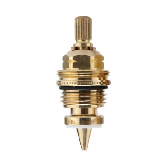 Montura aguja con regulación fina para gases técnicos