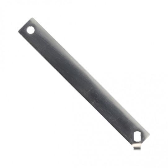 Palanca accionamiento ducha inox (válvula horizontal)