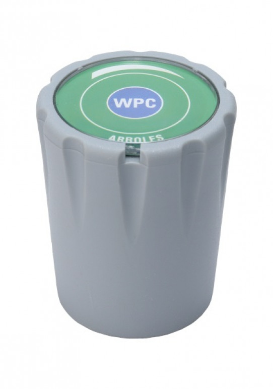 Polypropylene handle (indicate fluid and tap)