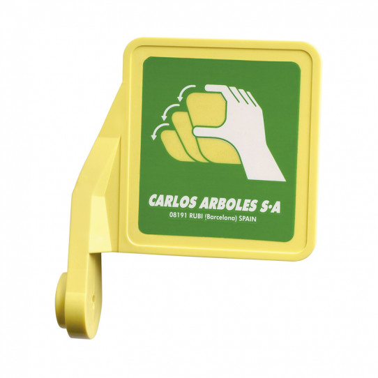 Push handle in ABS