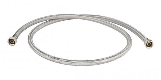 Stainless steel braided PE tube for single spray Eyewash